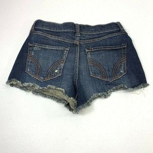 Hollister Shorts - Hollister Jeans High Rise Distressed Shorts 00